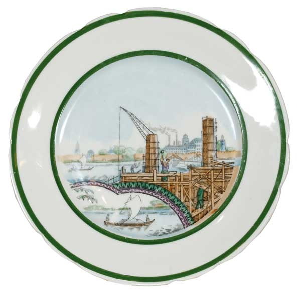 Plate «Construction»