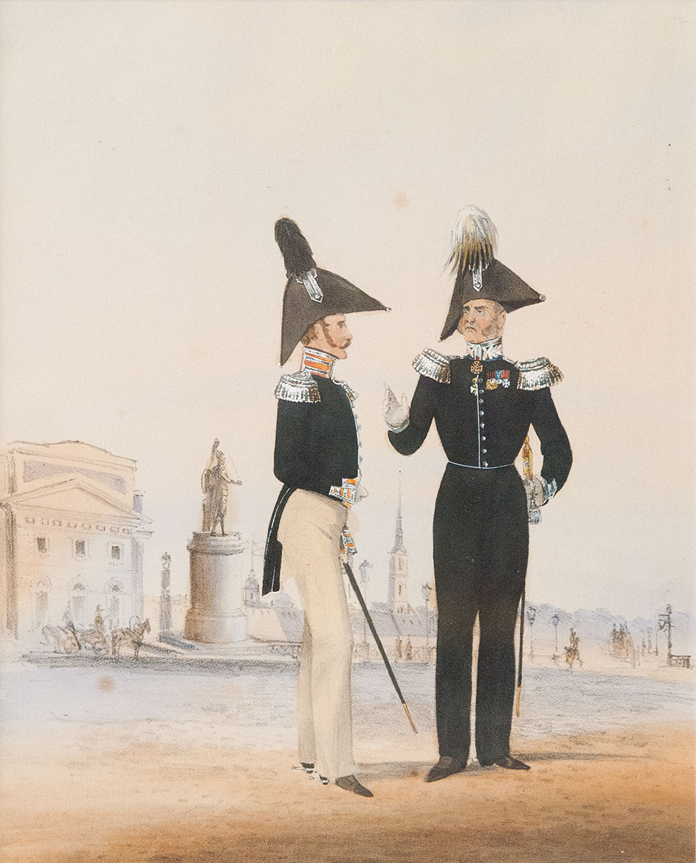 Buy Maneuvers in Tsarskoye Selo  Russia Uniforms of the Imperial