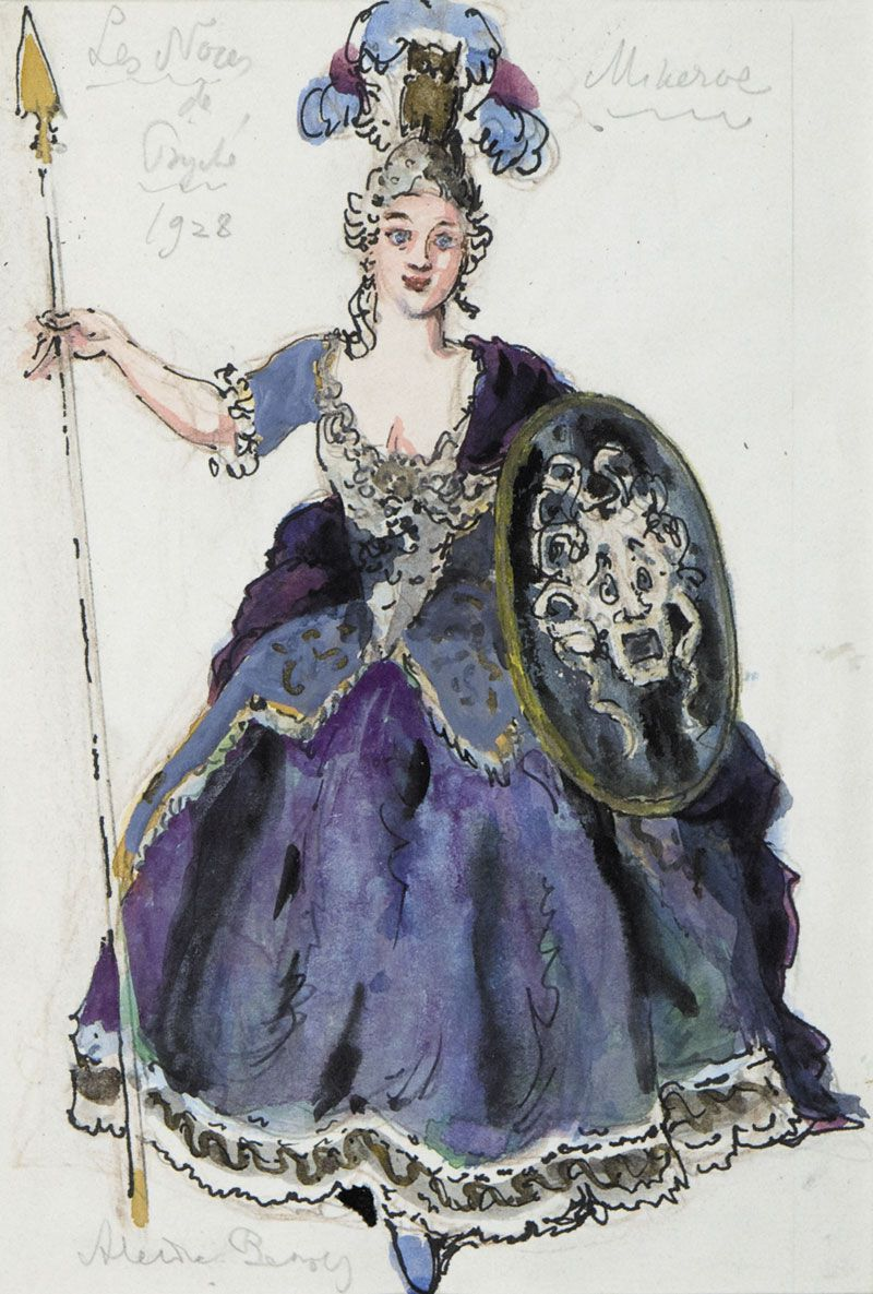 Costume design for the production