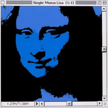 Single Mona Lisa (1:1) (Синяя).